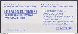 Carnets Marianne Du 14 Juillet ,N° 3419 C 15, 10 Timbres - Carnets