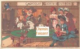 Chromo Chocolat GUERIN-BOUTRON - Jouet Buffalo Bill - Scans Recto-verso - Guerin Boutron