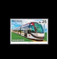 Mauritius (Ile Maurice) 2019 - Metro Express (Light Rail Transit) - 1v MNH Stamp - Mauritius (1968-...)