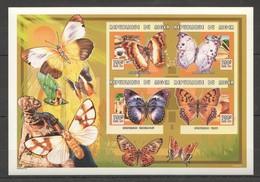 C204 !!! LAST ONE IN STOCK !!! 1999 !!! IMPERFORATE REPUBLIQUE DU NIGER BUTTERFLIES 1KB MNH - Schmetterlinge