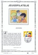 Nr. 2707 Op Kaart (zijde) 500 Exemplaar JOMMEKE NIJS - Belgium