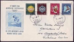 Switzerland - 1948 B - Winter Olympic Games 1948 - FDC - Inverno1948: St-Moritz