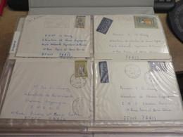 1 Classeur Rempli De Courriers Divers Imprimé Au Dos,,ou Laboratoire ,ou Medical Ou Autre Vendu Avec Classeur - Collezioni (in Album)