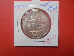 FRANCE 100 FRANCS 1986 ARGENT (A.3) - N. 100 Francs