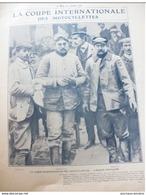 1904 COUPE INTERNATIONALE DES MOTOCYCLETTES / ABLIS / 500 PECHEURS A PONTOISE / JUVISY / COURSE DE LEVRIERS - Journaux - Quotidiens