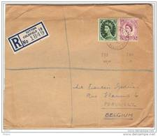 GRANDE BRETAGNE, REGISTERED LETTER. (JL47) - Lettres & Documents