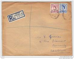 GRANDE BRETAGNE, REGISTERED LETTER . (JL51) - Lettres & Documents