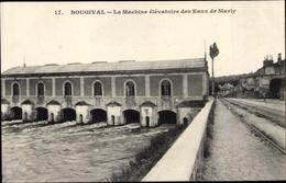 Cp Bougival Yvelines, Machine Élévatoire Des Eaux De Marly - Francia