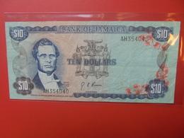 JAMAIQUE 10$ 1960(1970) SIGNATURE N°4 CIRCULER (B.10) - Jamaique