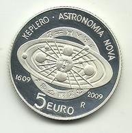 2009 - San Marino 5 Euro Astronomia - Senza Confezione - San Marino