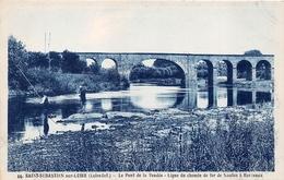 ¤¤  -  SAINT-SEBASTIEN-sur-LOIRE  -  Le Pont De La Vendée - Ligne Du Chemin De Fer De Nantes à Bordeaux  -   ¤¤ - Saint-Sébastien-sur-Loire
