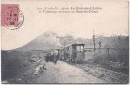63. Après LA FONT-DE-L'ARBRE. Le Tamway Montant Au Puy-de-Dôme. 509 - Ohne Zuordnung