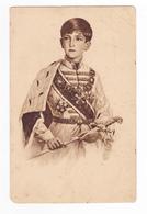 Sa Majesté Pierre II Roi De Yougoslavie Izfanje Rubens Zivko Cvijic Zagreb N°628 35 En 1935 VOIR DOS - Jugoslawien