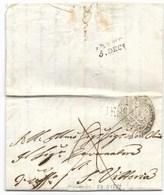 DA MONTECAROTTO A SANTA VITTORIA - 24.11.1829. - Italia