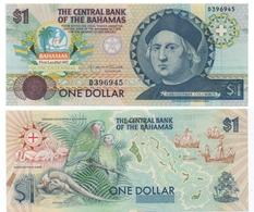 BAHAMAS   P. 50 - 1 $  COLOMBO  - FDS - UNC - Bahamas