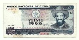 Cuba - 20 Pesos 1991 - Cuba