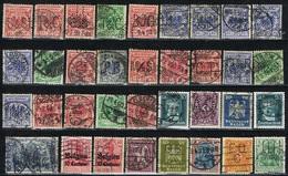DO 15420 LOT PERFINS DUITSLAND ZIE SCAN - Perforadas