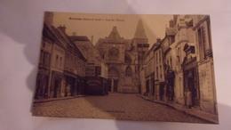78 HOUDAN RUE DE L EGLISE TIMBREE 1928 CAFE DU RENARD CHAUSSURES.. - Houdan