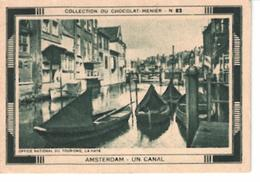 Collection Du Chocolat Menier  N°  82  Amsterdam  Un Canal - Vieux Papiers