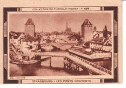 Collection Du Chocolat Menier  N°  428   Strasbourg   Les Ponts Couverts - Vieux Papiers