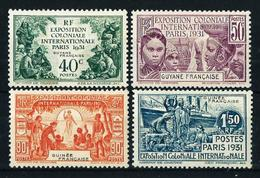 Guayana (Francesa) Nº 133/6 Nuevo* Cat.28€ - Unused Stamps