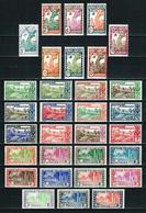 Guayana (Francesa) Nº 109/32*/(*)/** Cat.41,50€ - Unused Stamps
