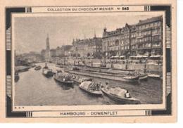 Collection Du Chocolat Menier  N°  563  Hambourg  Dowenflet - Vieux Papiers