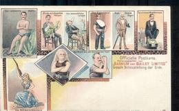 Barnum & Bailey - Circus - Albino - 1900 - Niederlande