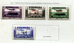 Alexandrette *-PA 1 à 4 - Alexandretta (1938)