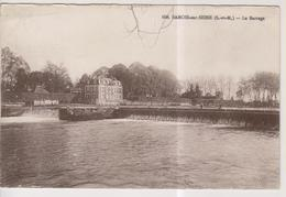 CPA-77-Seine Et Marne- SAMOIS-sur-SEINE-  Le Barrage- - Samois