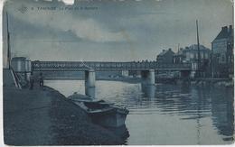 Tamines.   -   Le Pont De La Sambre  (Staat Zie Scan)   -   1911   Naar   Bruxelles   -  Anvers   -   SBP - Sambreville