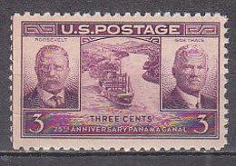 H1096 - ETATS UNIS UNITED STATES Yv N°408 ** CANAL DE PANAMA - Nuovi