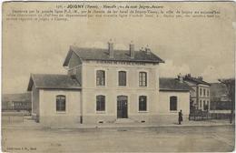 89  Joigny Nouvelle Gare Du Tacot Joigny-auxerre - Joigny