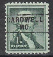 USA Precancel Vorausentwertung Preo, Locals Missouri, Cardwell 745 - Vereinigte Staaten