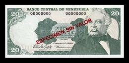 Venezuela 20 Bolívares 1998 Pick 63Fs Specimen SC UNC - Venezuela