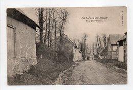 - CPA LA CROIX AU BAILLY (80) - Rue Dutrainville - Edition V. P. N° 6 - - Francia