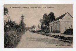 - CPA FLESSELLES (80) - Avenue De La Gare - Ferme Des Rosiers - Edition Pot-Gavois N° 15 - - Francia