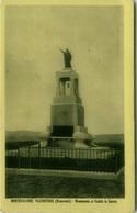 MONTEFALCONE VALFORTORE ( BENEVENTO ) MONUMENTO AI CADUTI IN GUERRA - FOTOGRAFIA PENSA - 1954 (3829) - Benevento