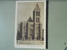 SEINE SAINT DENIS ST DENIS EGLISE CANONIALE FACADE - Saint Denis