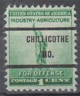 USA Precancel Vorausentwertung Preo, Bureau Missouri, Chillicothe 899-71 - Vereinigte Staaten