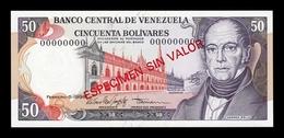 Venezuela 50 Bolívares 1998 Pick 65Fs Specimen SC UNC - Venezuela