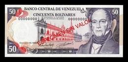 Venezuela 50 Bolívares 1998 Pick 65Gs Specimen SC UNC - Venezuela