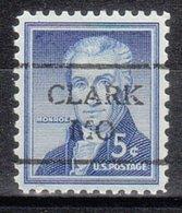 USA Precancel Vorausentwertung Preo, Locals Missouri, Clark 716 - Vereinigte Staaten