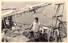 España Spain Spanje  Tenerife Santa Cruz ?  Tarjeta De Foto   Barco De Pesca  Pescadores  Barry 3728 - Tenerife