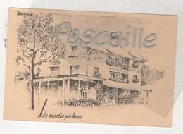 LUXEMBOURG - CP LE MARTIN PECHEUR - HOTEL RESTAURANT PROP. M. NEZER-DECELLE - BODANGE - MARTELANGE - ILLUSTRATEUR GERARD - Martelange