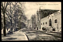 34 - MONTPELLIER - BOULEVARD DE L'ESPLANADE - VOIR ETAT - Montpellier
