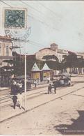 CPA Brasil / Brésil  - Parada De Bonos - Largo Palacio - Tram Cheval - 1910 - Brazil