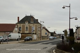 La Celle-Saint-Avant (37)- Rue Nationale (Edition à Tirage Limité) - Francia