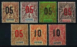 Guayana (Francesa) Nº 66/72 Nuevo* - French Guiana (1886-1949)