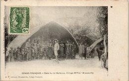 AFRIQUE --  CONGO Français - Case Du Roi Bankous - Village  M'Pila - Brazzaville - Brazzaville